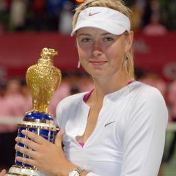 Звезда тенниса Мария Шарапова