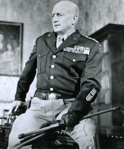 США военачальник Джордж Смит Паттон