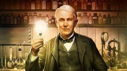 Американский изобретатель Томас Эдисон