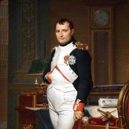 Французский бог войны Наполеон Бонапарт фото